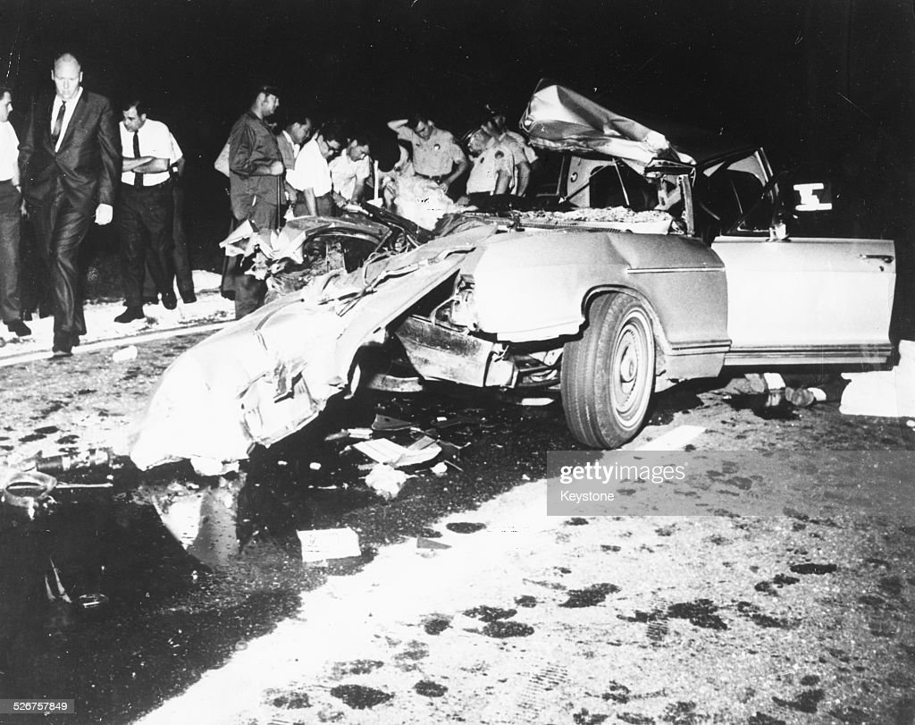 Great The Scene Of The Car Crash Which Killed Actress Jayne Mansfield, Her Lawyer  Samuel Brody
