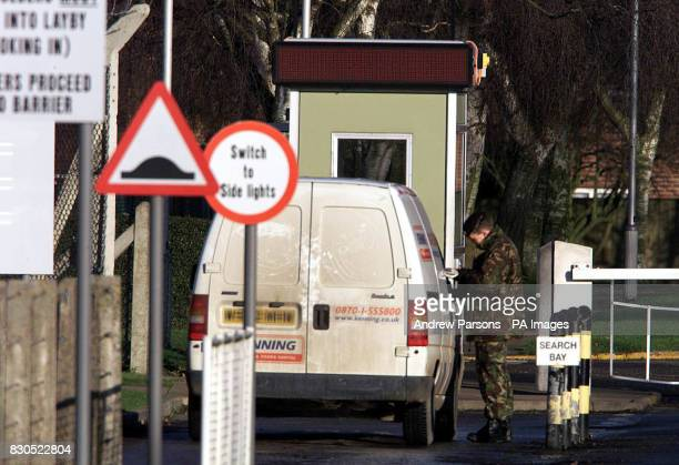 The scene outside Swanton Morley in Norfolk where fifteen soldiers face dismissal from the Army after failing drug tests the Ministry of Defence said...
