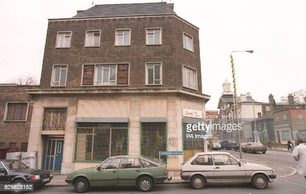 PAP LON 17 221194 The scene today on the 50th anniversary of a German V2 rocket attack on Woolworth's and other stores in New Cross London which...