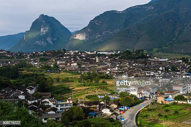 The scenery of Shigu Town, Yunnan