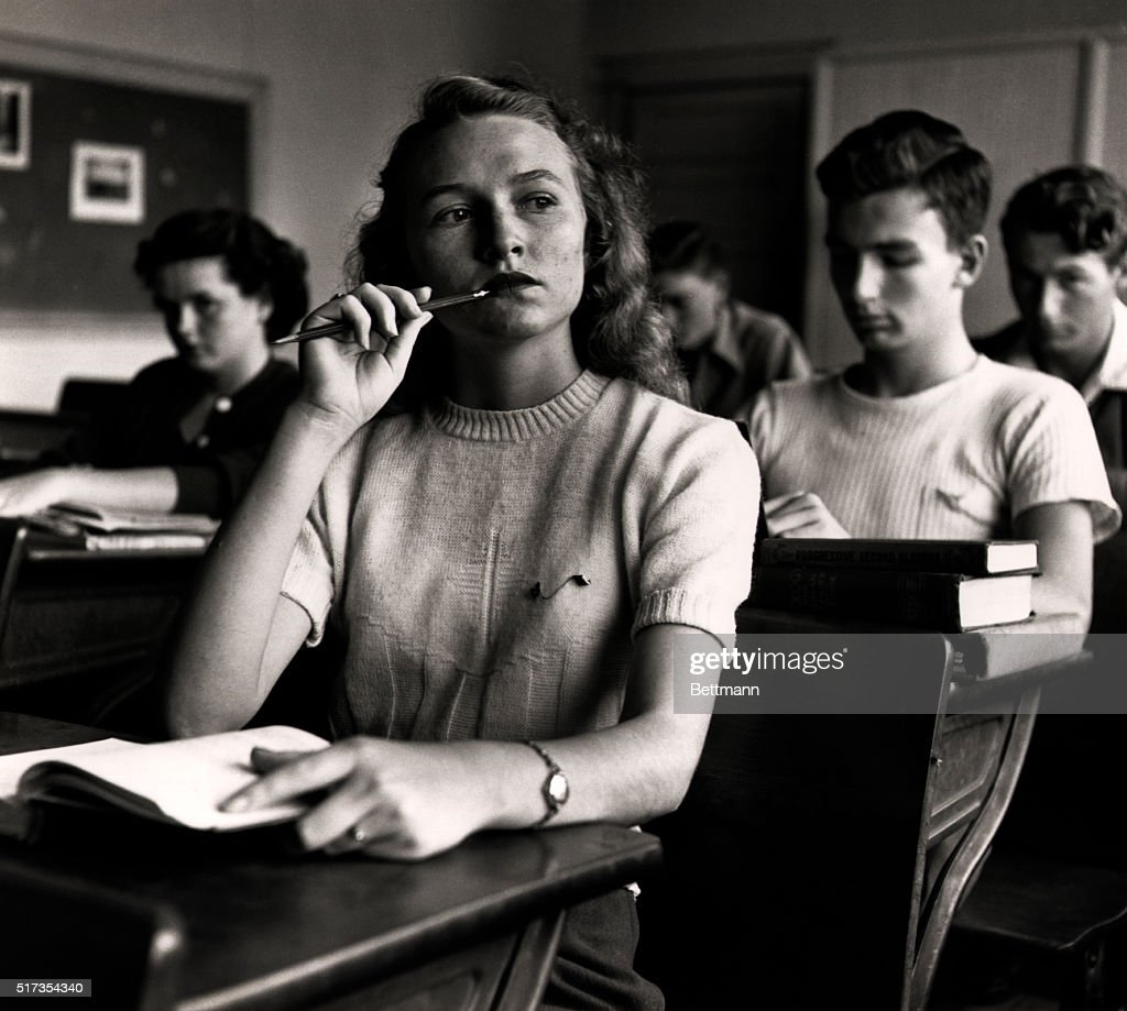 student driver rebecca johnson in high school pictures getty images the school bus fourth of twelve rebecca johnson 18 who is a