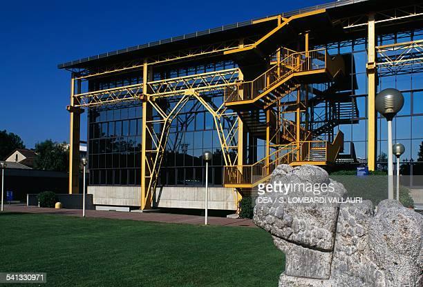 The School of Industrial Engineering Bovisa Milan Lombardy Italy Detail