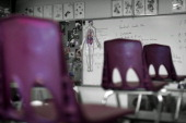 DEANGELIS_041009_CFW The Science Classroom where Business teacher Dave Sanders died at Columbine High School Littleton CO Monday April 20 2009 will...
