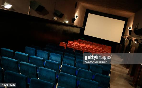 The screening room of the Admiral Kino movie theatre is seen in Vienna on November 27 2013 AFP PHOTO / ALEXANDER KLEIN