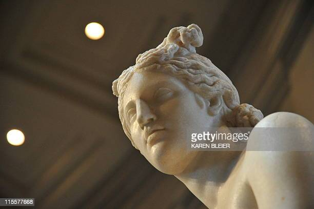 The sculpture 'Capitoline Venus' one of the most wellpreserved sculptures from Roman antiquity on display June 8 2011 at the National Gallery of Art...