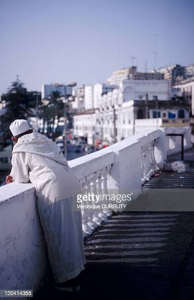 The seafront and the colonial city in Tangier Morocco North Africa