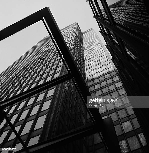 The Seagram Building on Park Avenue New York City circa 1960