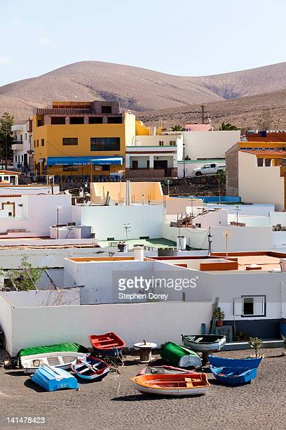 The seaside village of Ajuy, Fuerteventura