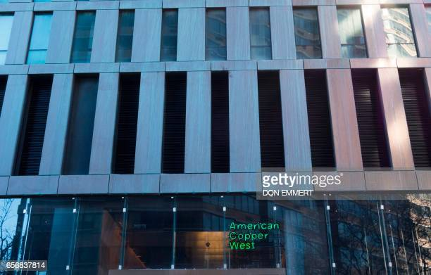 The second floor louvers of the American Copper Building at 626 First Avenue on March 17 2017 in New York The building is a dualtower residential...