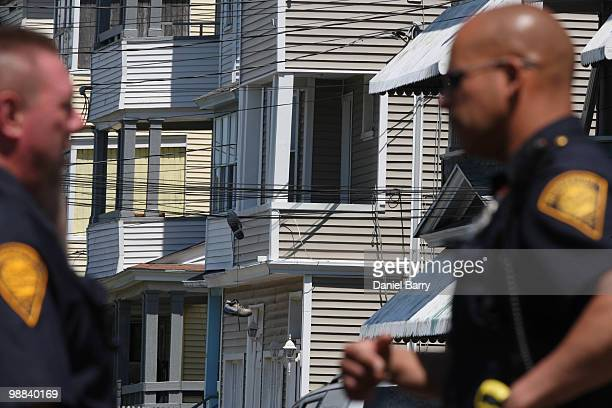 The second floor of 202 Sheridan Street where Faisal Shahzad lived May 4 2010 in Bridgeport Connecticut Shahzad a suspect in this past weekends...