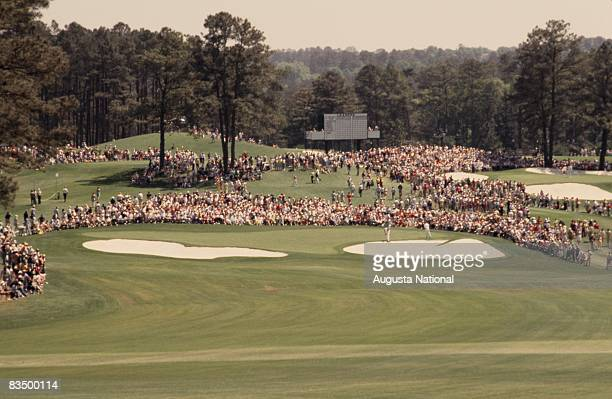 The second green during the 1978 Masters Tournament at Augusta National Golf Club on April 1978 in Augusta Georgia