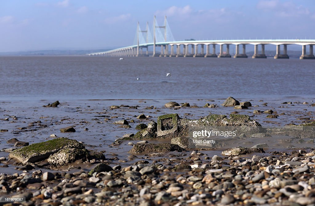 The Second Severn Crossing is seen spanning the Severn Estuary from Severn Beach on February 18, 2013 near Bristol, England. Bristol elected mayor, George Ferguson, has recently claimed that the proposed 30bn GDP Severn barrage could have a detrimental impact on the regional economy if it goes ahead, but supporters of the project claim it could provide 5 percent of the UK's electricity and create thousands of jobs.