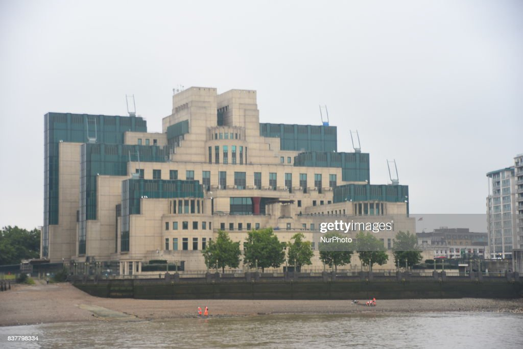 The Secret Intelligence Service, also known as MI6 headquarters building is pictured in London o August 23, 2017. The Secret Intelligence Service (SIS), commonly known as MI6 (Military Intelligence, Section 6), is the foreign intelligence agency of the Government of the United Kingdom. The SIS Chief is held accountable to the Foreign Secretary.