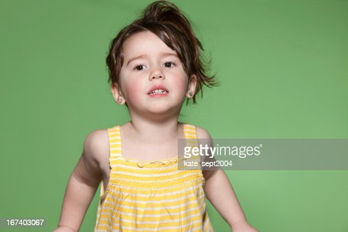 The Secret Language of Toddlers : Stock Photo