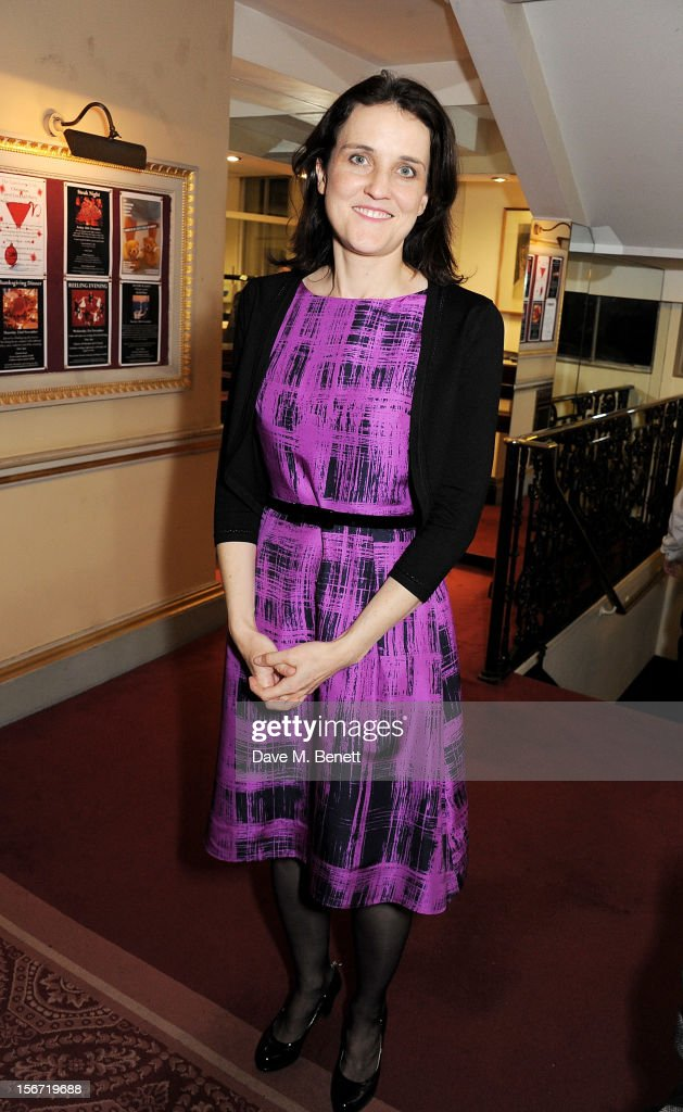 The Secretary of State for Northern Ireland, Theresa Villiers, attends the Maastricht Rebellion 20th Anniversary dinner at The Landsdowne Club on November 19, 2012 in London, England.