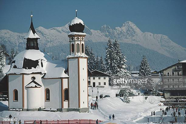 The Seekirchl in Seefeld Austria February 1985