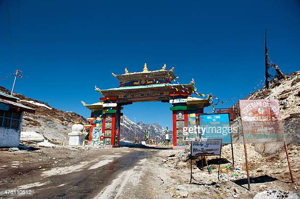 The Sela Pass heading into Tawang a former Tibetan Kingdom that was signed over to British run India by way of the Simla Accord in 1914 It is now a...