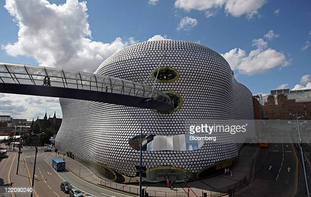 The Selfridges Co department store is seen at the Bullring shopping center operated by Hammerson Plc in Birmingham UK on Thursday Aug 25 2011...