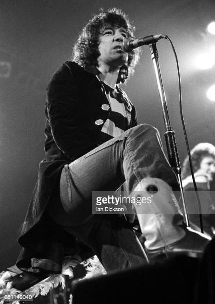 The Sensational Alex Harvey Band performing on stage at City Hall NewcastleuponTyne 01 May 1975