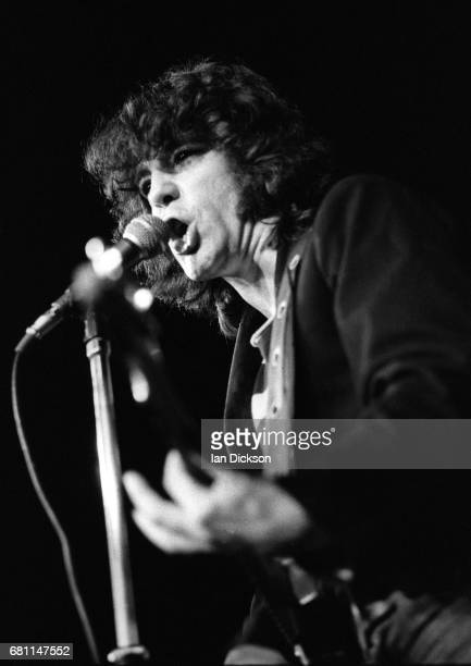 The Sensational Alex Harvey Band performing on stage at Earls Court London 01 July 1973