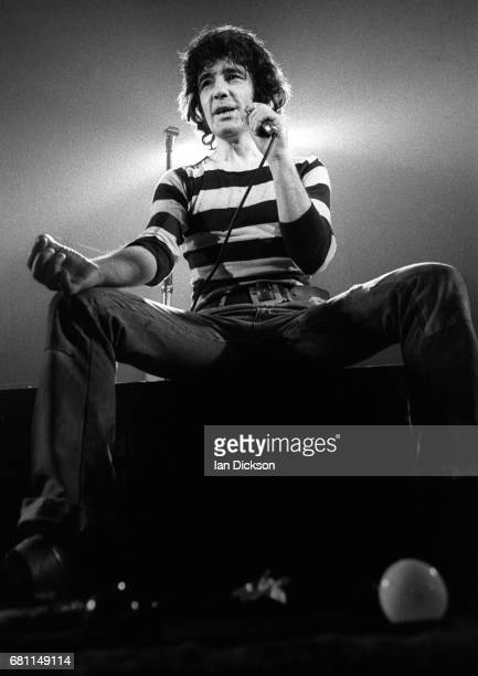 The Sensational Alex Harvey Band performing on stage at New Victoria Theatre London 23 December 1975