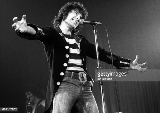 The Sensational Alex Harvey Band performing on stage at Rainbow Theatre London 07 June 1974