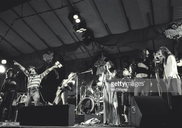 The Sensational Alex Harvey Band performing on stage at Reading Festival Reading United Kingdom 23 August 1974