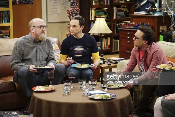 'The Separation Agitation' Pictured Brian Posehn Sheldon Cooper and Leonard Hofstadter Coverage of the CBS series THE BIG BANG THEORY scheduled to...