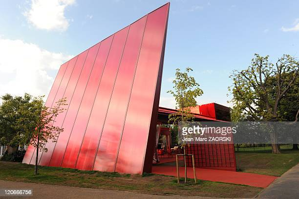 The Serpentine Gallery Pavilion Designed by WorldRenowned French Architect Jean Nouvel in London United Kingdom on September 17 2010 This Year 2010...