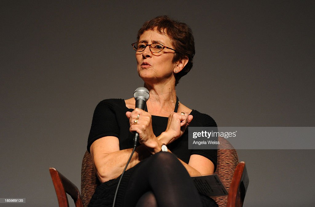 'The Sessions' producer Judi Levine speaks onstage at the Film Independent Forum at the DGA Theater on October 26, 2013 in Los Angeles, California.