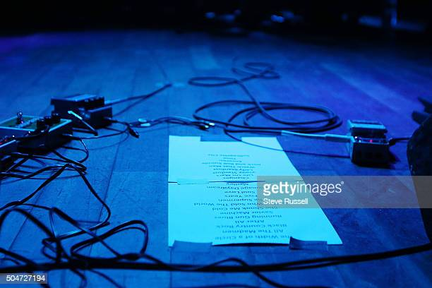 The set list for the first of two nights David Bowie tribute band Holy Holy featuring Bowie's longtime producer Tony Visconti and Woody Woodmansey a...