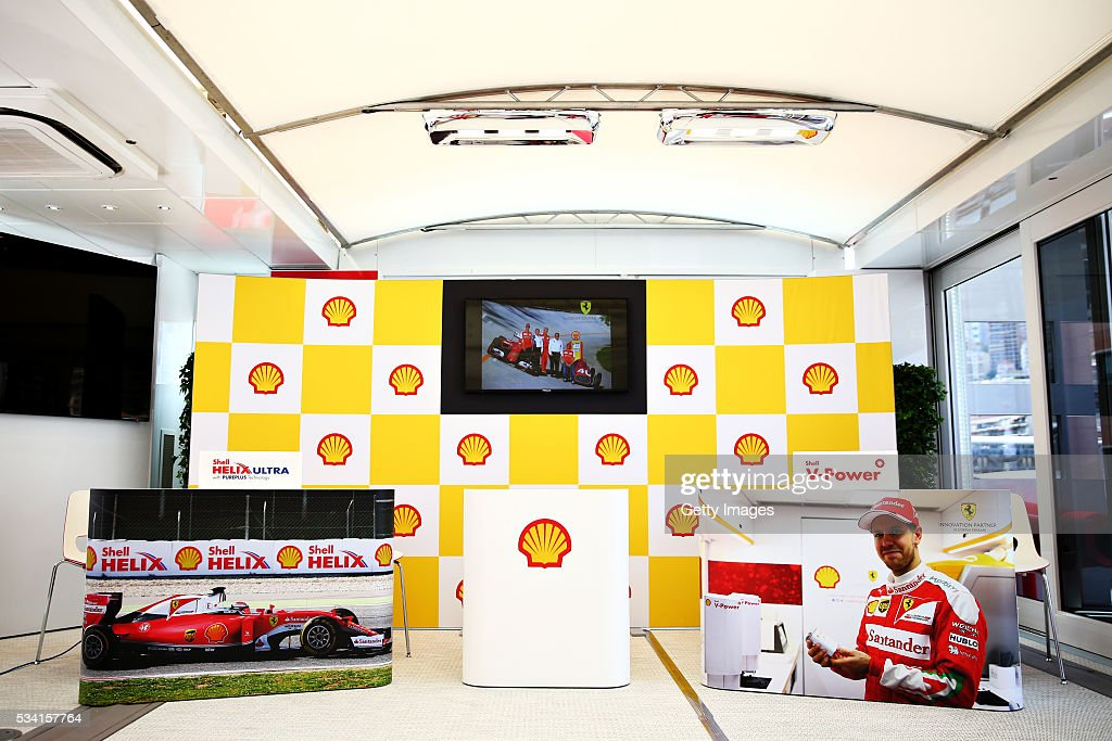 Shell at the F1 Grand Prix of Monaco
