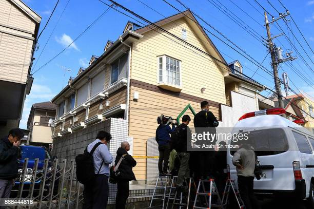 The severed body parts of nine people were found in an apartment on October 31 2017 in Zama Kanagawa Japan A 27yearold man was arrested after police...