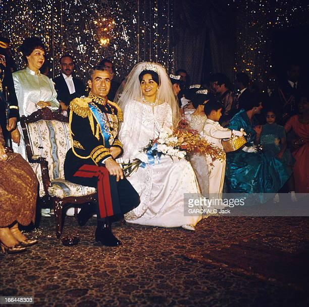 The Shah Of Iran Marries Farah Diba Le fastueux mariage du Shah d'Iran avec Farah DIBA le 21 décembre 1959