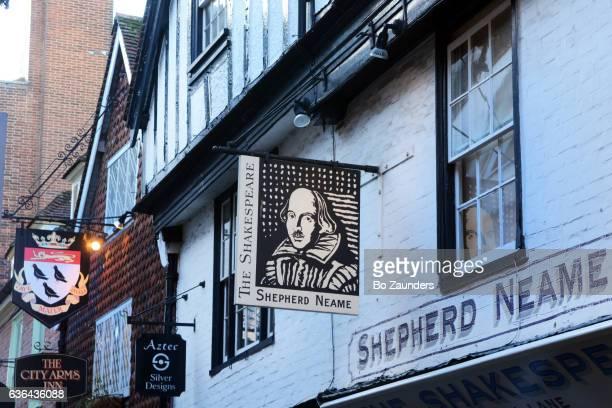 The Shakespeare in Butchery Lane, Canterbury, England