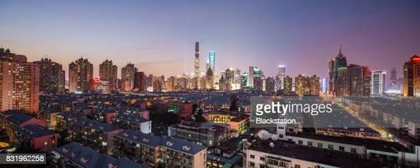 the Shanghai Downtown