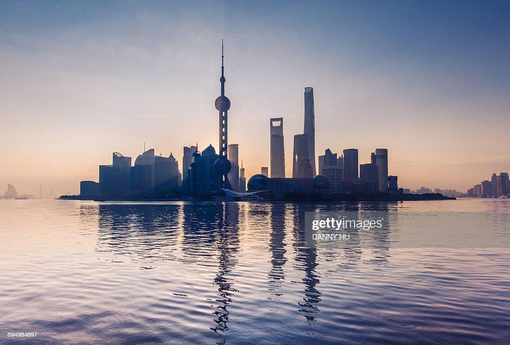 The Shanghai landmark