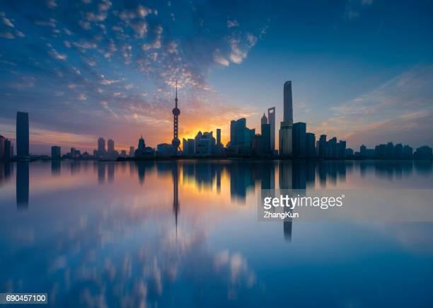 The Shanghai scenery