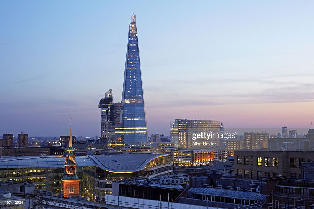 The Shard and 'City of London' : Stock Photo