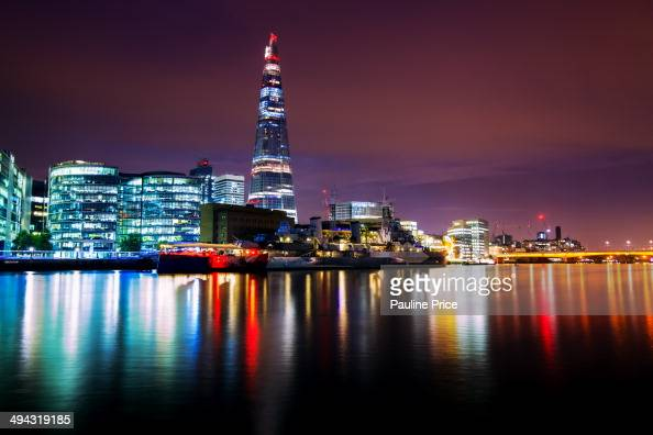 CONTENT] The Shard and HMS Belfast London England
