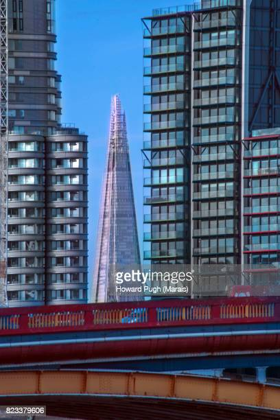 The Shard & Riverside Luxury Apartments. Vauxhall Bridge