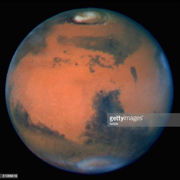The Sharpest View Of Mars Ever Taken From Earth Was Obtained By The Recently Refurbished Nasa Hubble Space Telescope This Stunning Portrait Was Taken...