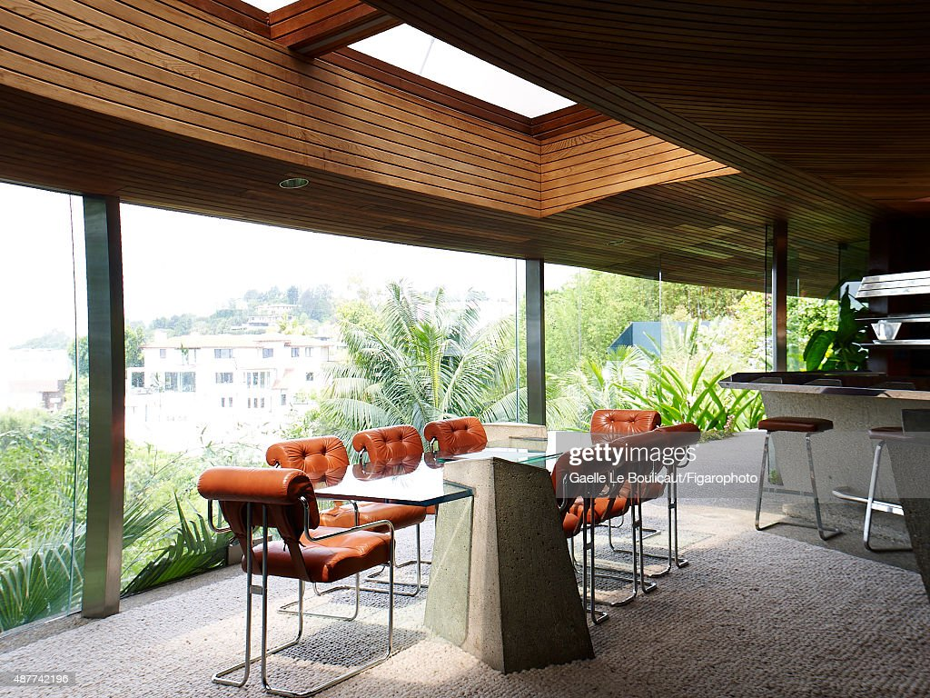 The Sheats Goldstein Home Designed By John Lautner Is Photographed For  Madame Figaro On August 10