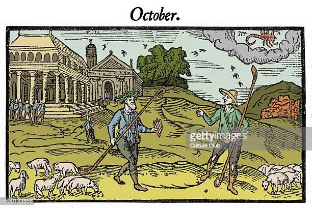 The Shepherd 's calendar Octobe1579 by Edmund Spenser Farmers The Shepheardes Calender ES 1552 1599