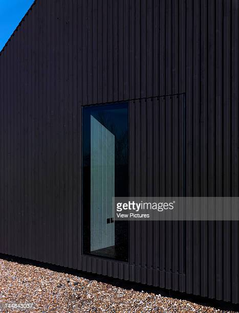 The Shingle House Dungeness Road Lydd Kent United Kingdom Architect Nord Architecture The Shingle House Nord Architecture Dungeness Uk 2010 Rear Face...