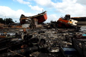 The ship breaking yards at Bhatiari Chittagong are renowned worldwide Lots of people are involved in this industry But there are no safety gears or...