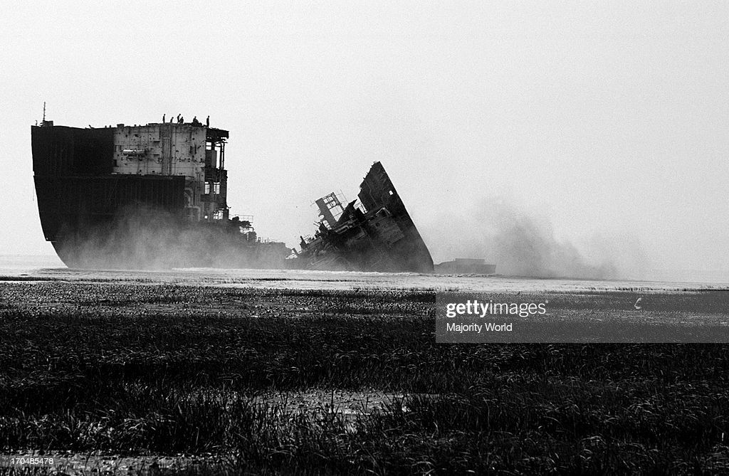 the ship breaking yards of chittagong bangladesh are very famous worldwide lots of people involved in this industryunfortunately peoples works here...