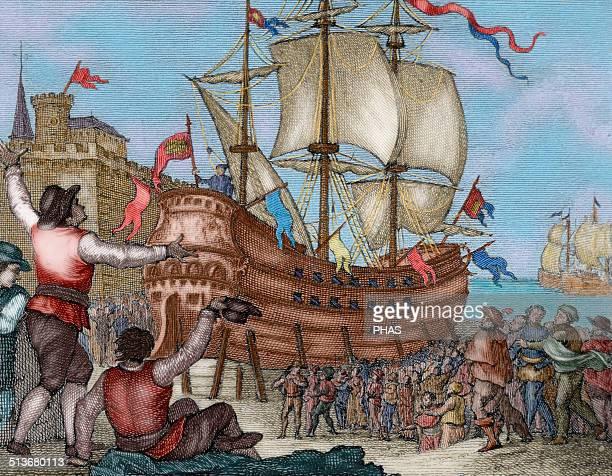 Juan Sebastián Elcano Ferdinand Magellan S Replacement: Ferdinand Magellan Stock Photos And Pictures