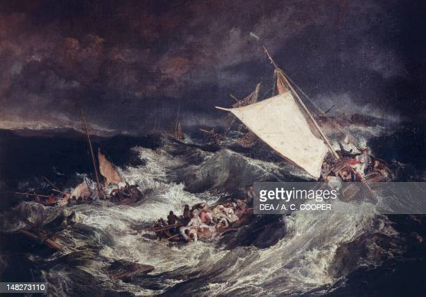 The shipwreck by Joseph Mallord William Turner London Tate Gallery
