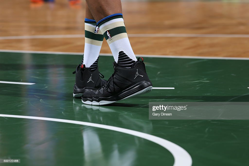 New York Knicks v Milwaukee Bucks | Getty Images Jabari Parker Shoes